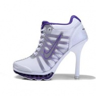 Nike Air Max High Heels Purple White