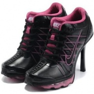 Nike Air Max High Heels Pink Black