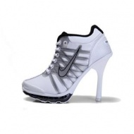 Nike Air Max High Heels Black White
