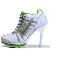 Nike Air Max High Heels Green White