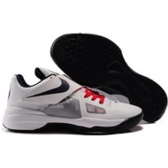 Nike Zoom KD IV Olympic Edition Shoes White/Black Sport