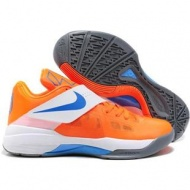 Nike Zoom KD IV Kevin Durant Shoes Vivid Orange Sport