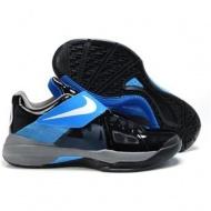 Nike Zoom KD IV Kevin Durant Shoes Black/Blue Sport