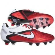 Inexpensive Red White Soccer Nike CTR360 Maestri II FG Cleats