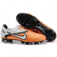 New Listing of White/orange/Black Nike CTR360 Maestri II Elite Soccer Cleats