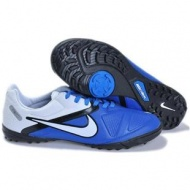 Blue White Soccer Shoes Football Boots of Nike CTR360 Maestri TFout of stock