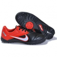 Wholesale Nike CTR360 Maestri TF Soccer Shoes Football Boots In Black Red