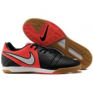 Black Challenge Red White Soccer Shoes Football Boots Nike CTR360 Maestri III IC