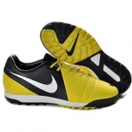 Sonic Yellow Dark Grey White Soccer Shoes Football Boots Nike CTR360 Maestri III TF