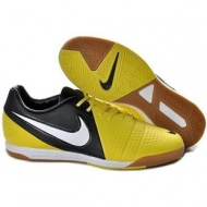Sonic Yellow Dark Grey White Soccer Shoes Football Boots Nike CTR360 Maestri III IC