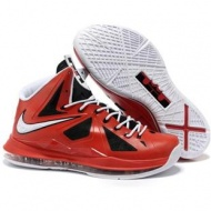 Nike Zoom LeBron 10 Red/Black/White Sport