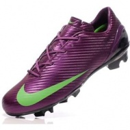 Cheap Nike Soccer Mercurial SL special Purple / Green color Mens Cleats Newout of stock