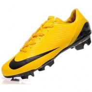 2011 Nike Mercurial SL Yellow / Black Men Soccer CleatsOUT OF STOCK