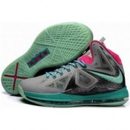 Nike Zoom LeBron 10 PS Gray/Pink/Jade Sport