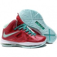 Nike Zoom LeBron 10 PS Christmas Red/White/Green Sport