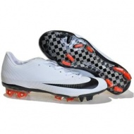 Cheap Nike Mercurial Vapor Superfly FG Soccer In White Black Footwear