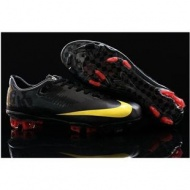 New Nike Mercurial Vapor Superfly FG Black Yellow Cheap Men Soccer Cleats