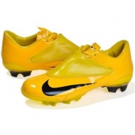 New 2011 Soccer cleats Nike Mercurial Vapor V FG Yellow with Blackout of stock