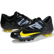 Nike Mercurial Vapor V FG In Black Yellow Nike Mercurial Soccer Cleatsout of stock