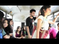 What Girls and boys Doing in bus - A journey to remember HD