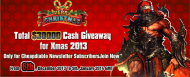 Cheapdiablo prepared total $ 30000 cash giveaway as a great gift for all our newsletter subscribers, everyone has a chance to get $ 5 voucher from Cheapdiablo. If you want to get this gift, you can join us now!