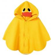 Children Hooded Duck Cloak Kids Girl/Boy Poncho Mantle Wraps Coat - $14.99
