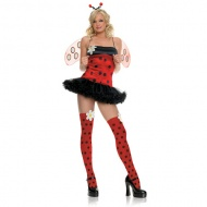 First time when you see the perfect colors matching you will fall in love with this sexy hot strap frill short butterfly cartoon christmas fancy dress. the wings,floweres and black dots are cutest things.Whar are you waiting for? Hurry up and take this christmas gift home.