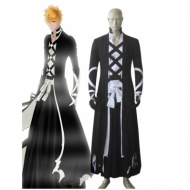 Bleach Ichigo Kurosaki New Bankai Look cosplay costume from www.eshopcos.com