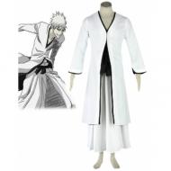 Bleach White Ichigo Kurosaki cosplay costume and more bleach costumes like Yoruichi cosplay costume at eshopcos.