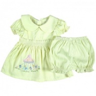 Girl baby clothes children's clothing 0 - 24months princess suits lovely baby girls summer set shirts + shorts