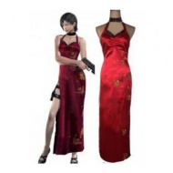 Resident Evil 4 Ada Wong Red Cosplay --CosplayDeal.com Costume